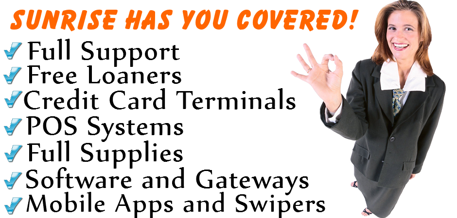 Sunrise has you coverd banner